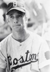 Joe Tracy the Boston Braves baseball player